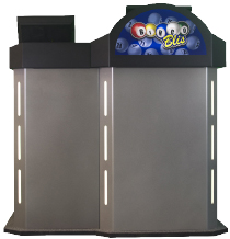 Get the most modern Bingo Calling podium from Wexel Gaming