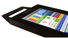 GTab Lite with Blis Linked Bingo is the perfect product for those with little available space.